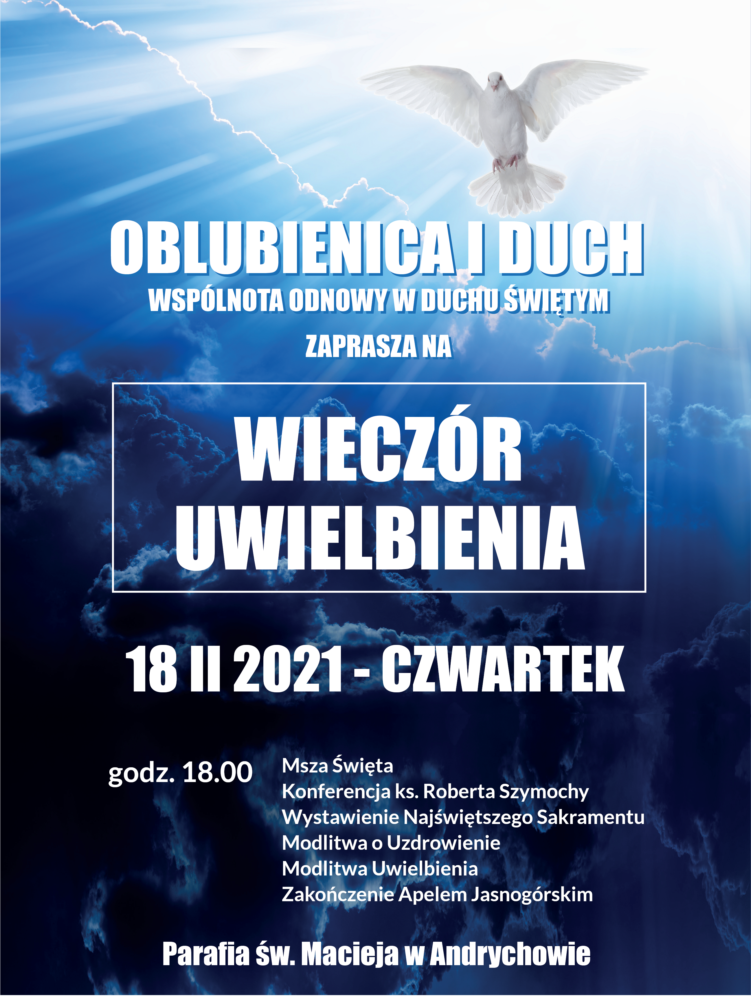 Wieczór Uwielbienia II 2021